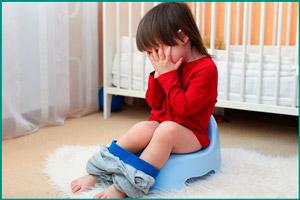 Подтекание мочи у ребенка