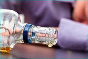 Увлечение спиртными напитками