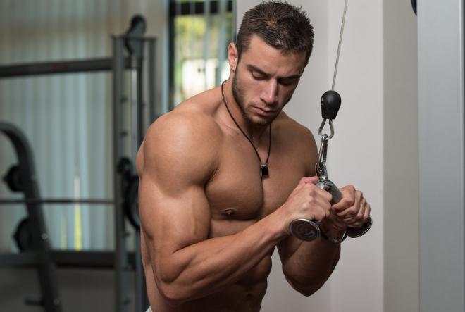 Увеличене мышечной массы