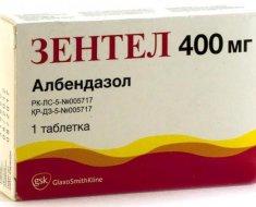 Лучшие таблетки от глистов для детей