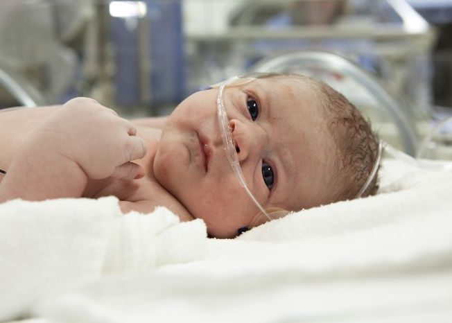 Кислородное голодание новорожденного