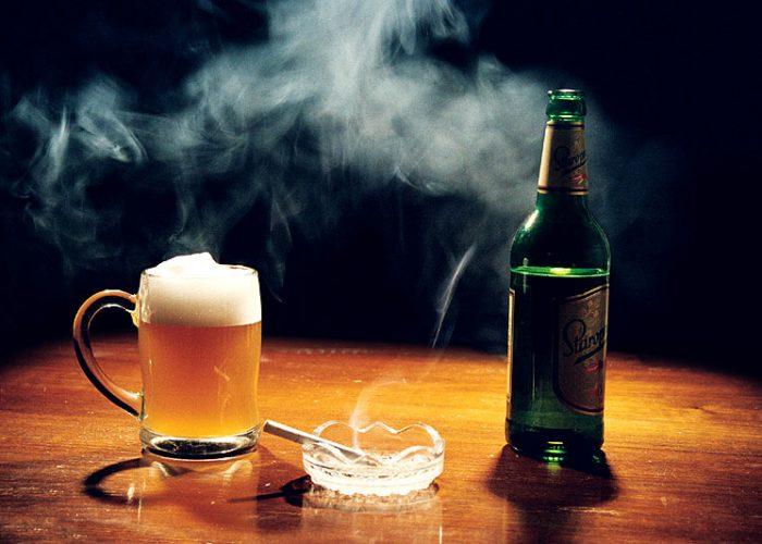 Курение и злоупотребление алкоголем