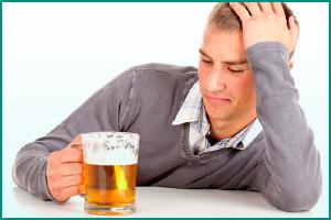 Употребление алкоголя как причина цистита