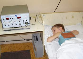 электрофорез для детей