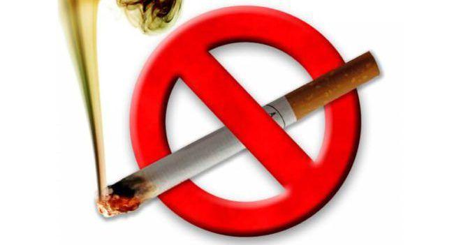 Заперет курения