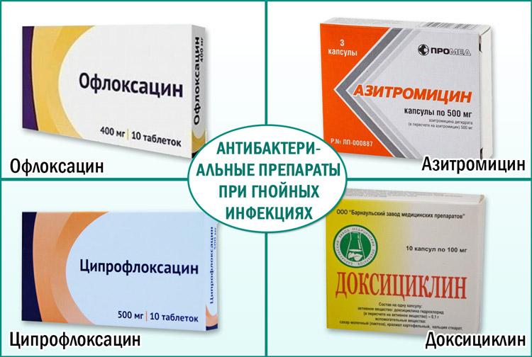 эффективный антибиотик для лечение простатита