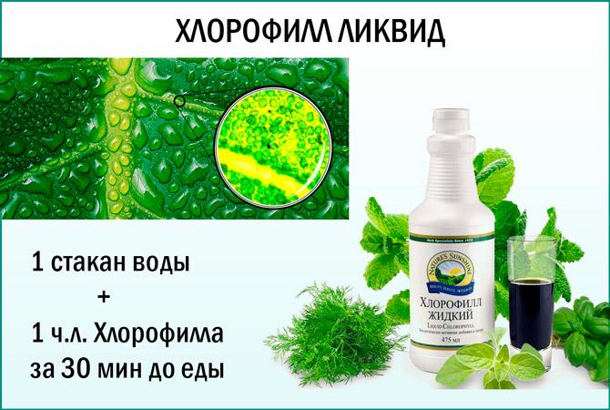 БАД Хлорофилл ликвид