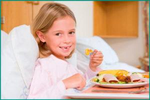Правильное питание при детском энурезе