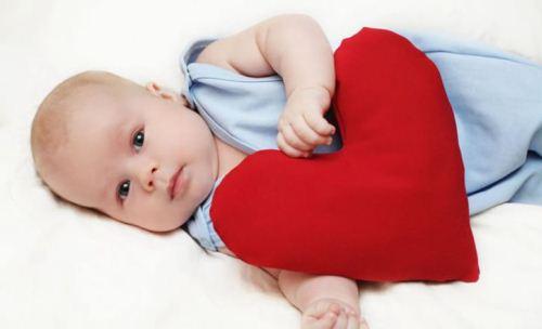 сердце новорожденного