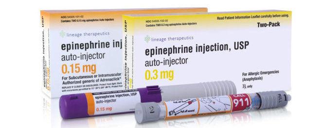 Форма выпуска эпинефрина
