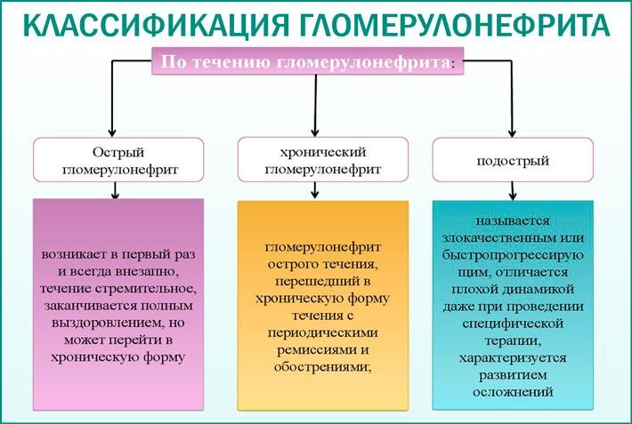 Гломерулонефрит. Классификация