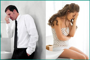 Признаки цистита и простатита