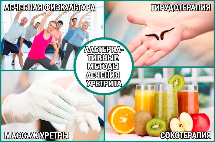 Уретрит: альтернативные методы лечения