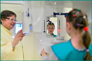 Рентген черепа ребенка