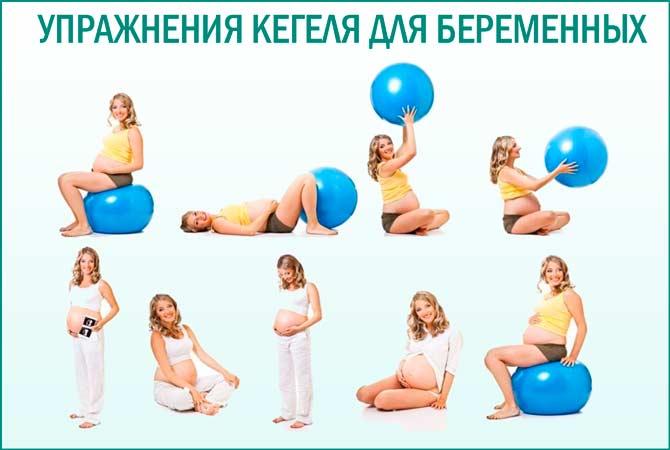 Комплекс упражнений Кегеля для беременных женщин