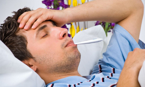 температура и боль в груди