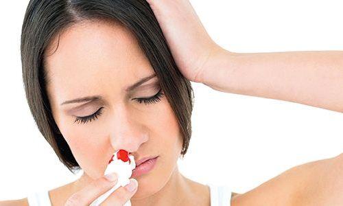 длительное носовое кровотечение