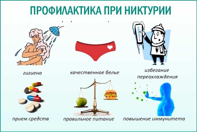Профилактические меры при никтурии