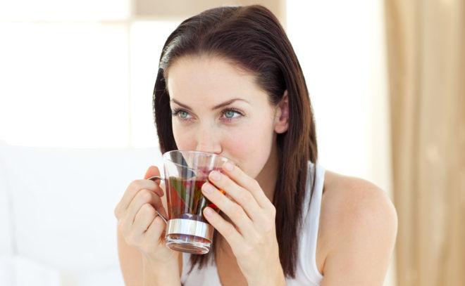Пить чай можно перед каждым употреблением еды