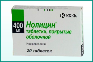 Антибиотик Нолицин