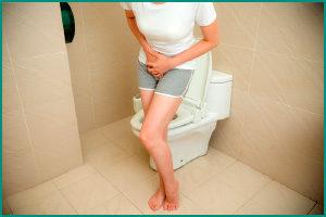 Частые позывы к посещению туалета
