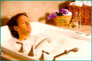 Варикоцеле: лечебная ванна