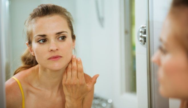 Ухудшение состояния кожи