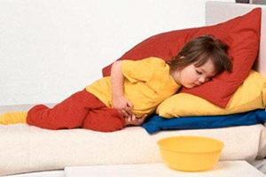 Боль внизу живота у ребенка