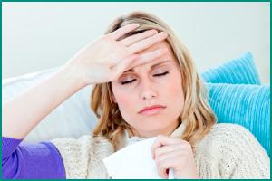 Слабый иммунитет у женщины