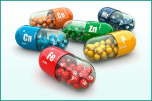 Прием витаминов при лечении патологии