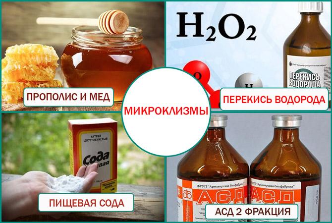 Клизма с медом для простатита препарат для усиления потенции и лечения простатита цзаньбао
