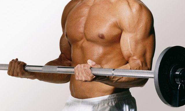 Усиленные физические нагрузки у мужчин