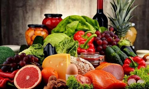 еда богата витаминами