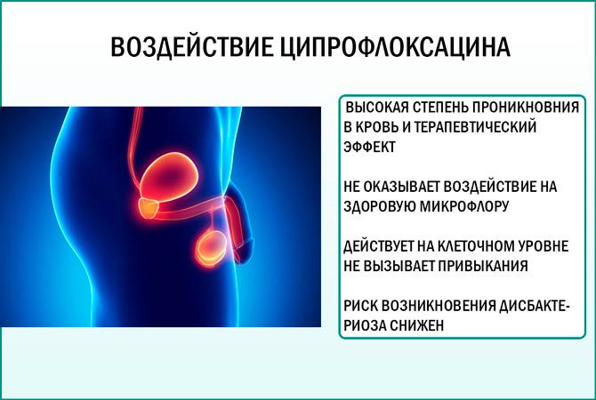 Ципрофлоксацин: эффект от приема