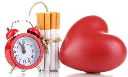Курения влияет на сердце