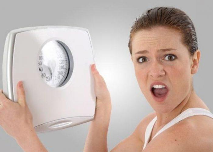 Колебание веса