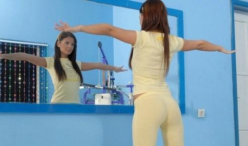 упражнения перед зеркалом