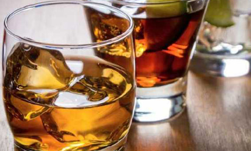 отказаться от спиртосодержащих напитков