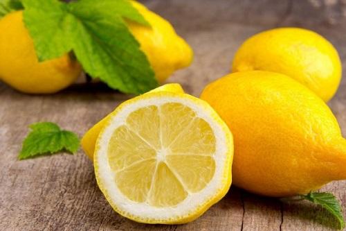 лимон с калиной