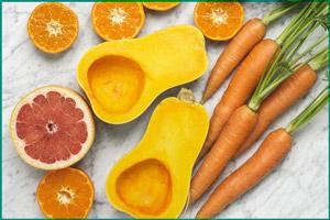 На цвет мочи влияет пища