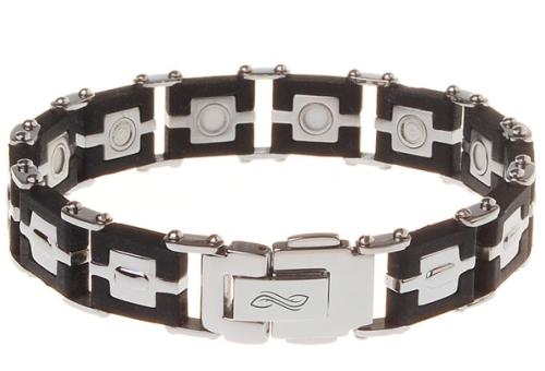 магнитный браслет из серебра