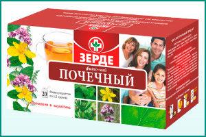 Мочегонный фито-чай