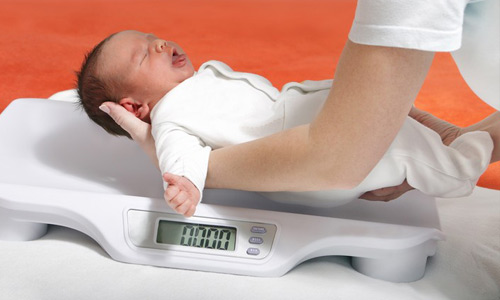 малый вес у ребенка